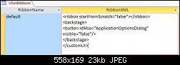 Click image for larger version.  Name:USysRibbons.JPG Views:16 Size:23.5 KB ID:43243